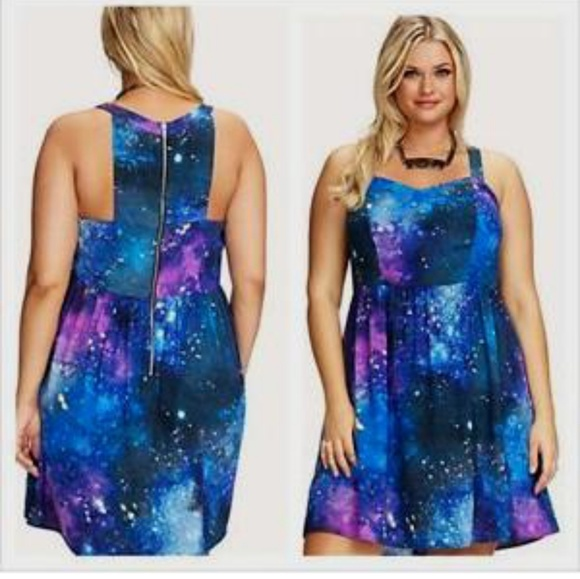 Plus Size Galaxy